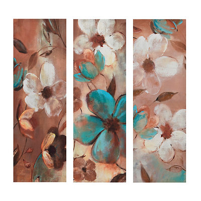 Garden Glow Canvas Art Prints, Set of 3