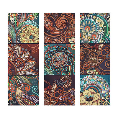 Zentage Patchwork Canvas Art Prints, Set of 3