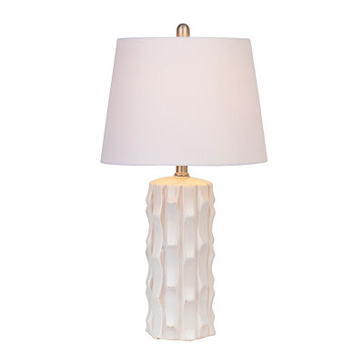 Ivory Ridge Ceramic Table Lamp