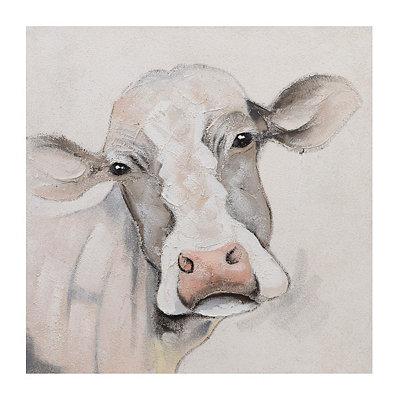 Mavis Cow Canvas Art