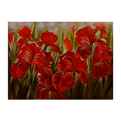 Rhapsody in Red Canvas Art