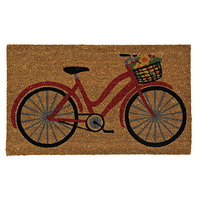 Fall Flowers Bicycle Doormat