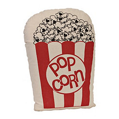 Vintage Movie Popcorn Pillow