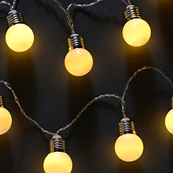 Frosted Marquee String Lights