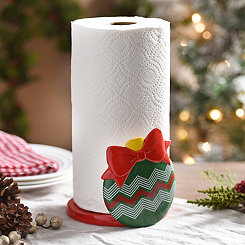 Ornament Paper Towel Holder