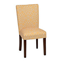 Lemon Trellis Parsons Chair