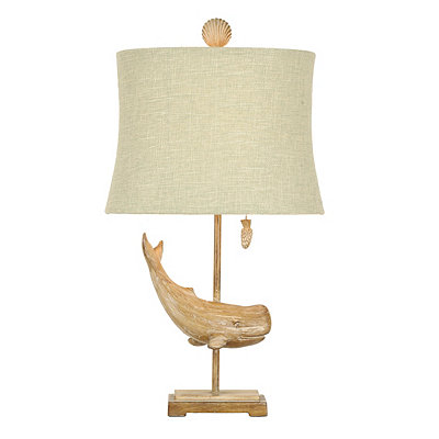Lakeport Whale Table Lamp