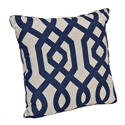 Navy Gatehill Pillow
