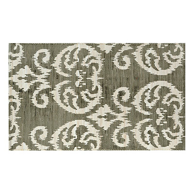 Chatham Gray Ikat Scatter Rug
