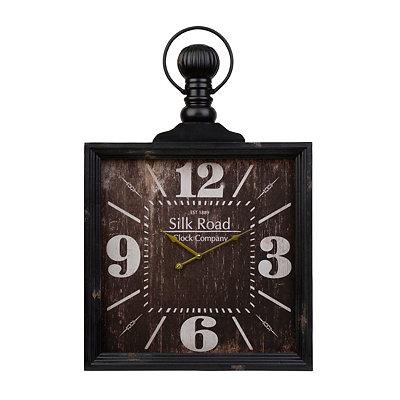Antique Black Danielson Clock