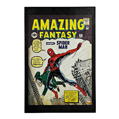 Vintage Amazing Spider-Man Framed Art Print