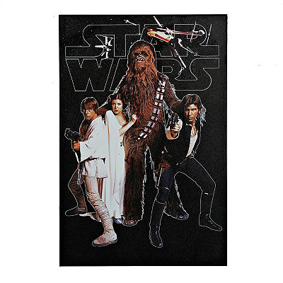 Star Wars Heroes Framed Art Print