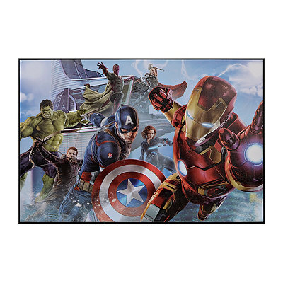 The Avengers Age of Ultron Framed Art Print
