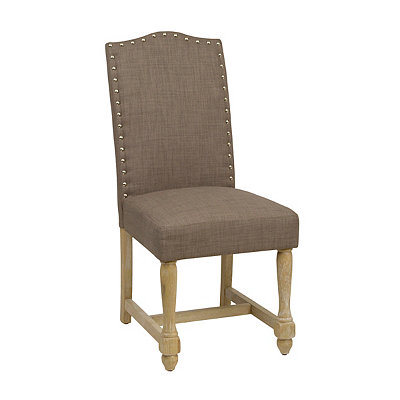 Brown Spindle Dining Chair