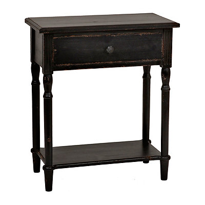 Michelle Black Side Table