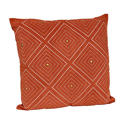 Spice Zafar Embroidered Pillow