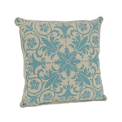 Aqua Ally Beads Pillow