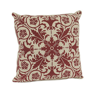Red Ally Beads Pillow