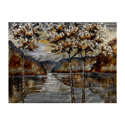 Peaceful Waters Canvas Art