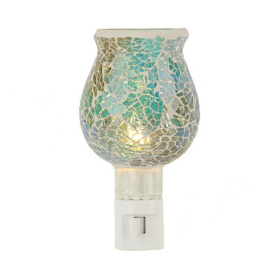Crushed Blue Mosaic Night Light