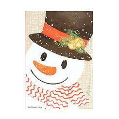 Crafty Snowman Sachet