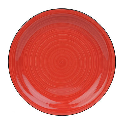 Red Color Vibes Plate