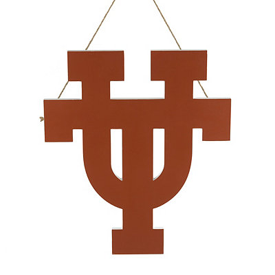 Burnt Orange Texas Wooden Plaque