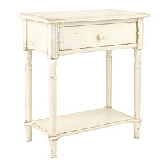 Michelle White Side Table