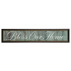 Bless Our Home Framed Art Print