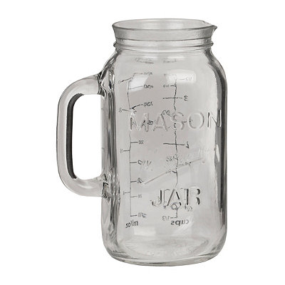 Mason Jar Measuring Glass