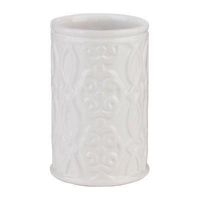 Jade White Ceramic Tumbler