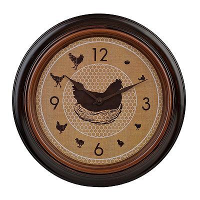 Evolution of a Chicken Clock