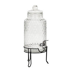 Quilted Beverage Dispenser with Stand