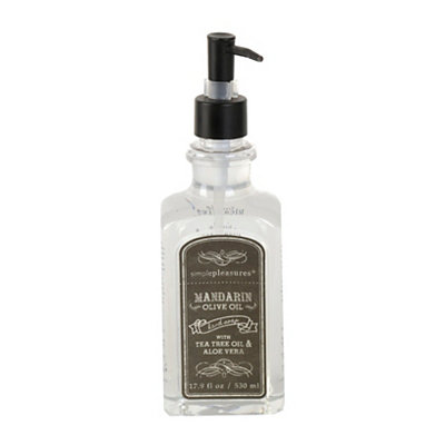 Mandarin Olive Oil Hand Soap, Set of 2