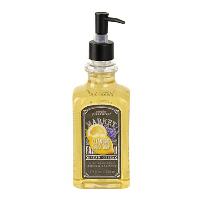 Lemon and Lavender Hand Soap, Set of 2