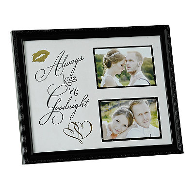 Kiss Me Goodnight Collage Frame