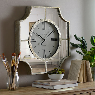 Caroline Mirrored Clock