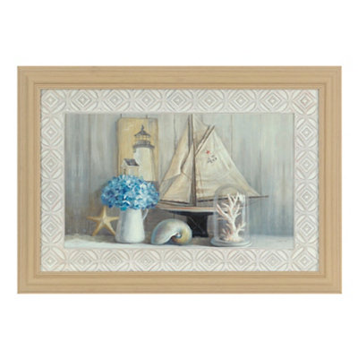 Summer House Framed Art Print