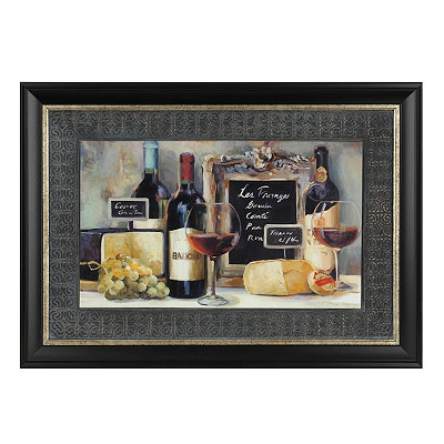 Le Fromage Framed Art Print