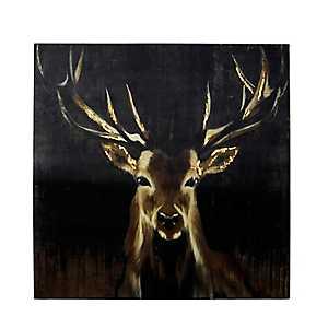 Big Buck Canvas Art Print