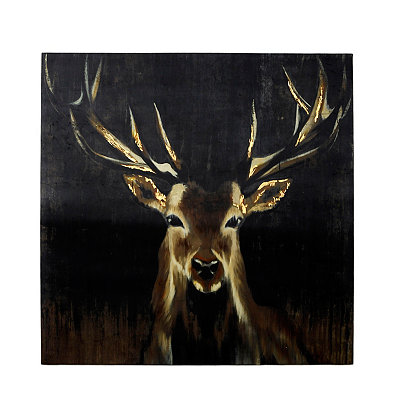 Big Buck Canvas Art Print