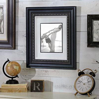 Matte Black Portrait Frame, 8x10