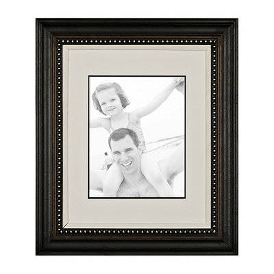 Matte Black Portrait Frame, 11x14