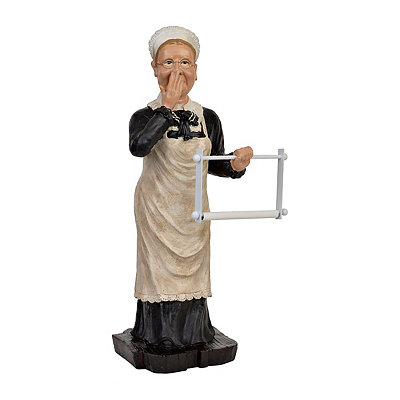 Stinky Maid Toilet Paper Holder