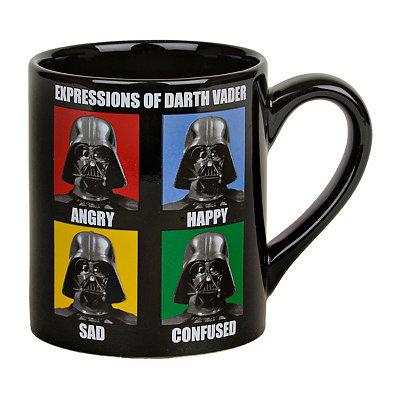 Expressions of Vader Star Wars Mug