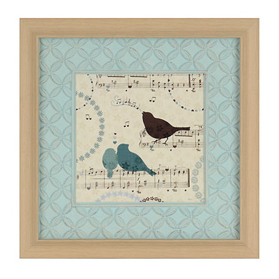 Song Birds II Framed Art Print