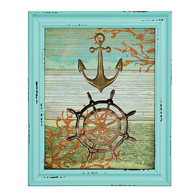 Jeweled Nautical Framed Art Print