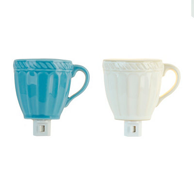 Ceramic Coffee Mug Night Lights