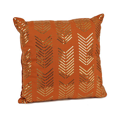 Spice Hadara Sequin Arrow Pillow