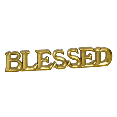 Gold Blessed Table Runner